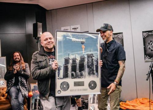 Platinverleihung Aftershow Hockenheim 2015