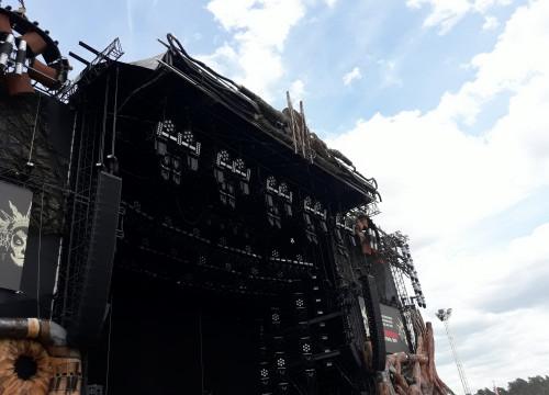 Matapaloz Bühne