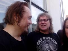 Klaus Farin mit Pe